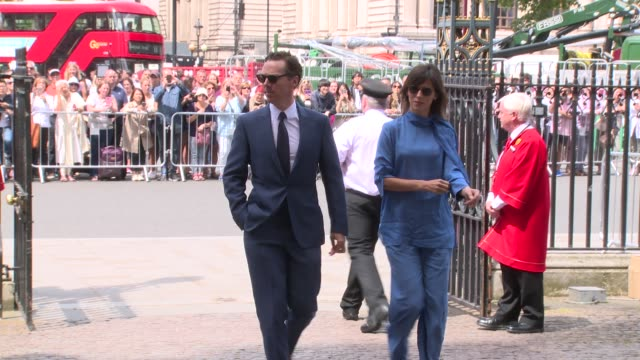 benedict cumberbatch at westminster abbey on june 15, 2018 in london, england. - benedict cumberbatch stock videos & royalty-free footage