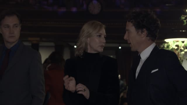 benedict cumberbatch, cate blanchett, paul feig, rory bremner at fayre of st james christmas carol concert, of st james christmas carol concert at st... - rory bremner stock videos & royalty-free footage