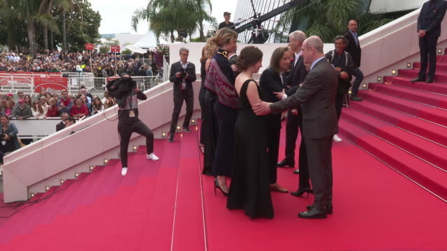 benedicte couvreur valeria golino noemie merlant celine sciamma adele haenel luana bajrami at 'portrait of a lady on fire ' red carpet arrivals the... - fille de stock videos & royalty-free footage