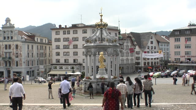 Benedictine Einsiedeln Abbey square