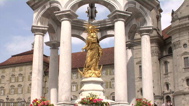 benedictine einsiedeln abbey - female likeness stock videos & royalty-free footage