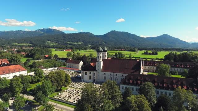 Benediktbeuern Abbey In Upper Bavaria