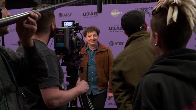 "benh zeitlin at the ""wendy"" sundance premiere presented by searchlight pictures sundance film festival at eccles center theatre on january 26 2020 in... - sundance film festival stock videos & royalty-free footage"