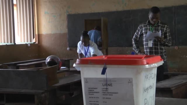 benin goes to the polls to choose a new president from a crowded field of 33 candidates but with concerns lingering about the distribution of voters'... - benin stock videos and b-roll footage