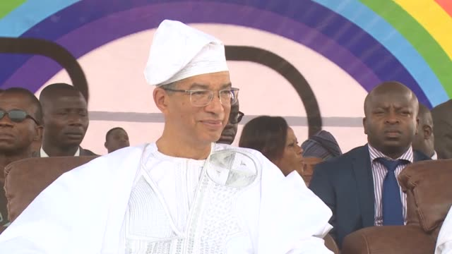 benins presidential elections reach a climax on sunday when prime minister lionel zinsou takes on businessman patrice talon to succeed thomas boni... - benin stock videos and b-roll footage