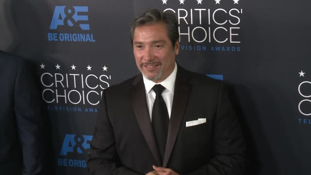 benito martinez at the 2015 critics' choice television awards at the beverly hilton hotel on may 31, 2015 in beverly hills, california. - 放送テレビ批評家協会賞点の映像素材/bロール