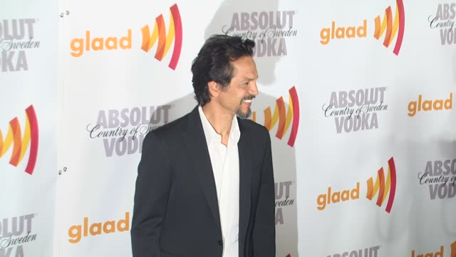 benjamin bratt at the 2010 glaad media awards at century city ca - benjamin bratt stock videos & royalty-free footage