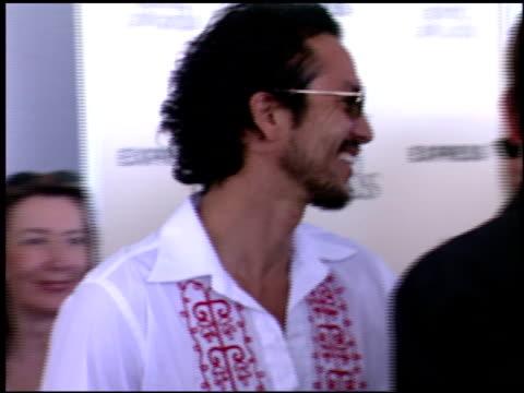 benjamin bratt at the independent spirit awards on march 23 2002 - benjamin bratt stock videos & royalty-free footage
