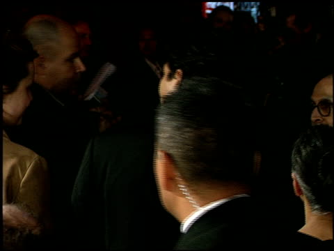 benjamin bratt at the 'miss congeniality' premiere at grauman's chinese theatre in hollywood california on december 14 2000 - benjamin bratt stock videos & royalty-free footage