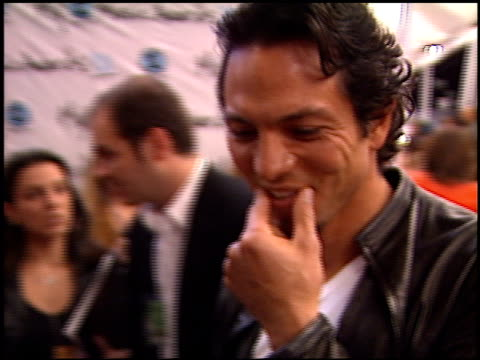 benjamin bratt at the my vh1 music awards at the shrine auditorium in los angeles california on december 2 2001 - benjamin bratt stock videos & royalty-free footage