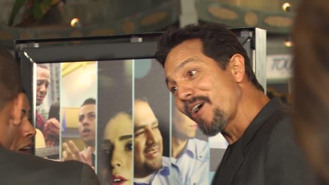 vídeos de stock, filmes e b-roll de benjamin bratt at the pepsi presents the premiere of 'latinos living the american dream' at hollywood ca. - benjamin bratt