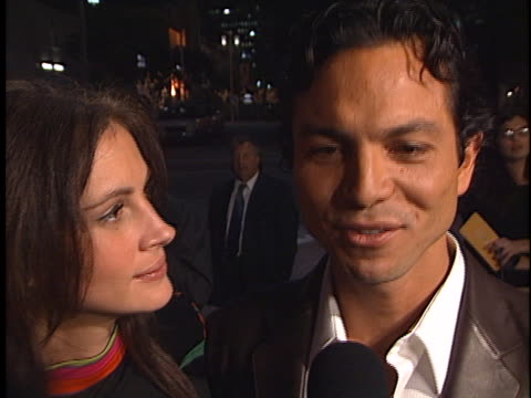 benjamin bratt at the red planet premiere at westwood in westwood ca - benjamin bratt stock videos & royalty-free footage