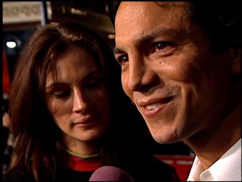 benjamin bratt at the 'red planet' premiere on november 6 2000 - benjamin bratt stock videos & royalty-free footage