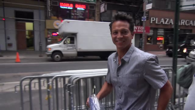 benjamin bratt at the 'today' show studio in new york ny on 7/2/13 - benjamin bratt stock videos & royalty-free footage