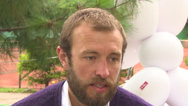 benjamin dilloway on his character's view of the world at 'bypass' interviews - 71st venice international film festival on september 02, 2014 in... - 第71回ベネチア国際映画祭点の映像素材/bロール