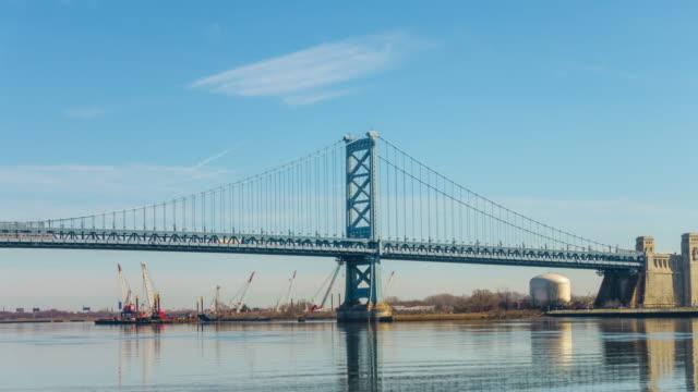 Benjamin Franklin Bridge in Philadelphia PA