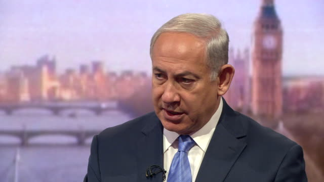 Benjamin Netanyahu saying that Donald Trump 'understands that Iran is the primary problem' in the Middle East