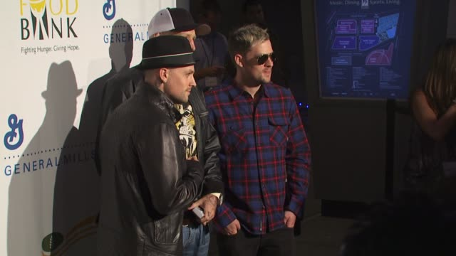 Benji Joel Madden at the 'Rock A Little Feed A Lot' Benefit Concert at Los Angeles CA