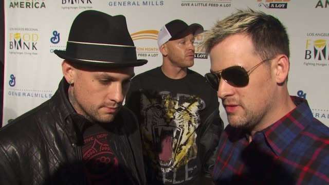 Benji Joel Madden on being a part of the night what fans can expect from their performance how they got involved with Feeding America at the 'Rock A...