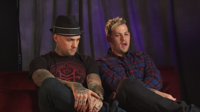 Benji Joel Madden on working with homeless and their charities at the 'Rock A Little Feed A Lot' Benefit Concert at Los Angeles CA