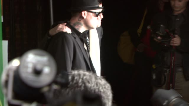 benji madden and joel madden at the dcma collective celebrates grand opening of flagship store on march 15 2008 - flagship store stock videos and b-roll footage