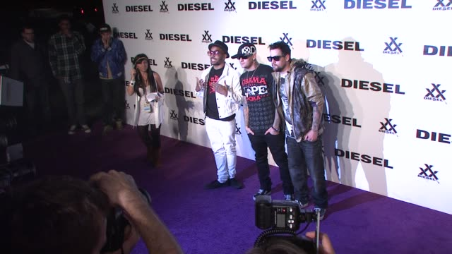 Benji Madden Joel Madden at the Diesel xXx Rock Roll Circus New York City at Brooklyn NY