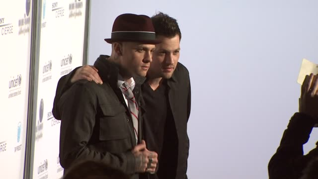 Benji Madden Joel Madden at the Sony Cierge And The RichieMadden Children's Foundation's UNICEF Event at Los Angeles CA