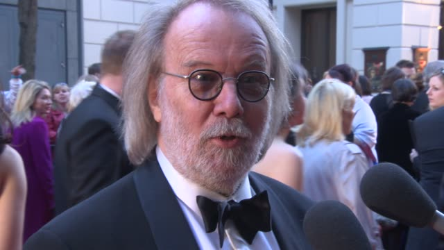 INTERVIEW Benny Andersson on the success of Mamma Mia and performing at the Olivier Awards at The Laurence Olivier Awards with MasterCard on April 13...