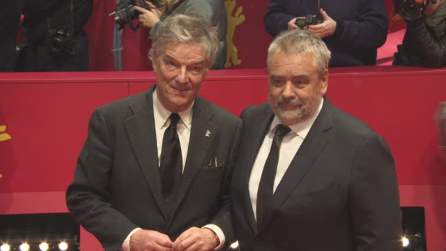 Benoit Jacquot Luc Besson at 68th Berlin Film Festival Eva Red Carpet at Berlinale Palast on February 17 2018 in Berlin Germany