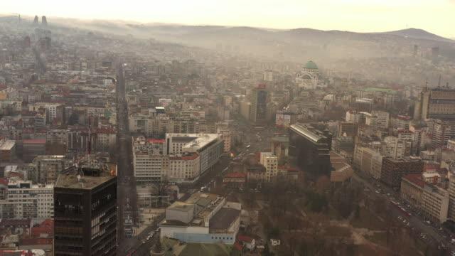 stockvideo's en b-roll-footage met beogradjanka het hoogste gebouw in belgrado - capital cities
