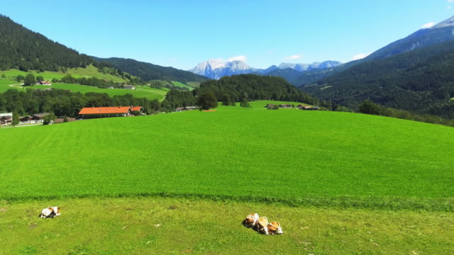 Berchtesgadener Land And Mount Hoher Göll (Hoher Goell)