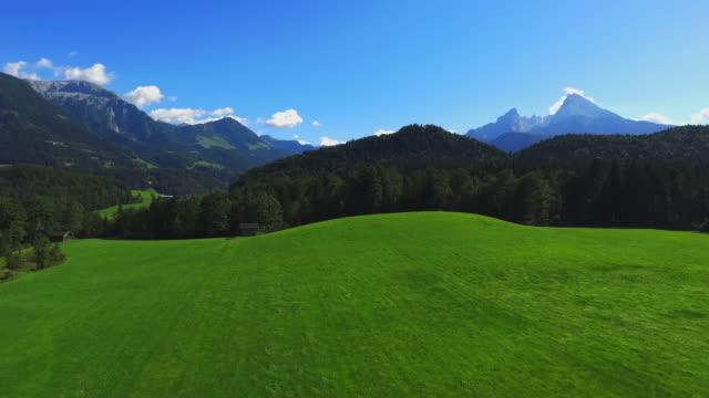 Berchtesgadener Land And Mount Watzmann From The Northeast