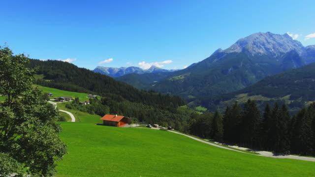 berchtesgadener ランドと実装ヴァッツマン - 放牧地点の映像素材/bロール