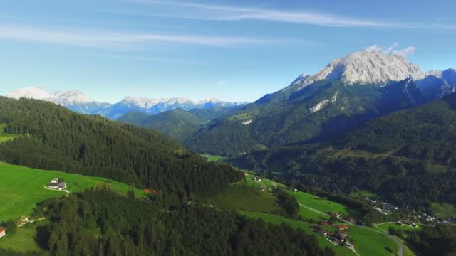 berchtesgadener ランドと実装ヴァッツマン - landscape scenery点の映像素材/bロール