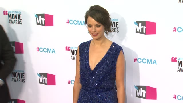 Berenice Bejo at 17th Annual Critics' Choice Movie Awards on 1/12/12 in Hollywood CA