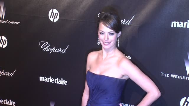 Berenice Bejo at The Weinstein Company Golden Globe AfterParty at The Beverly Hilton Hotel on 1/15/12 in Los Angeles CA