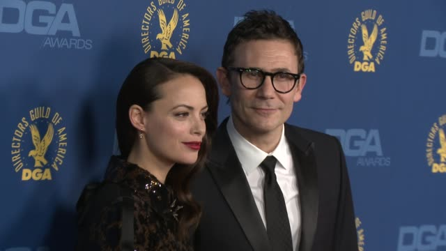 Berenice Bejo Michel Hazanavicius at 65th Annual Directors Guild Of America Awards Arrivals 2/2/2013 in Hollywood CA