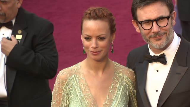 Berenice Bejo Michel Hazanavicius at 84th Annual Academy Awards Arrivals on 2/26/12 in Hollywood CA