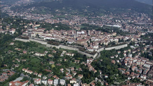 Bergamo  - Aerial View - Lombardy, Provincia di Bergamo, Bergamo, Italy