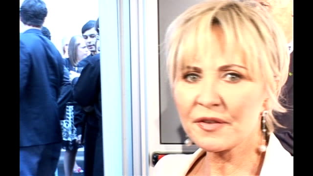 berkeley square: lulu interview at the glamour women of the year awards 2006 sot - the outfit is pretty glamourous as it's alexander mcqueen - lulu singer stock videos & royalty-free footage