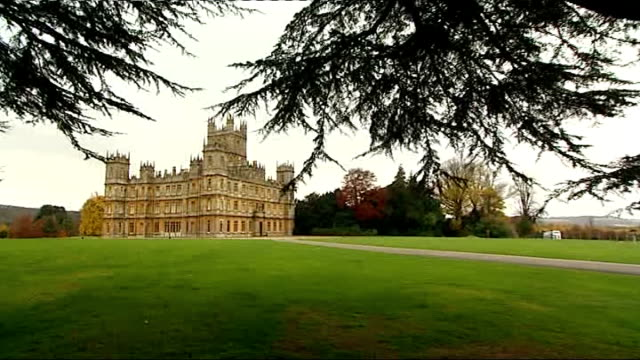 Berkshire Highclere Castle EXT General view of Highclere Castle