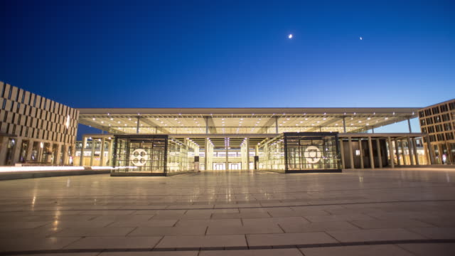 berlin airport ber in april 2015 before opening - flughafen stock-videos und b-roll-filmmaterial