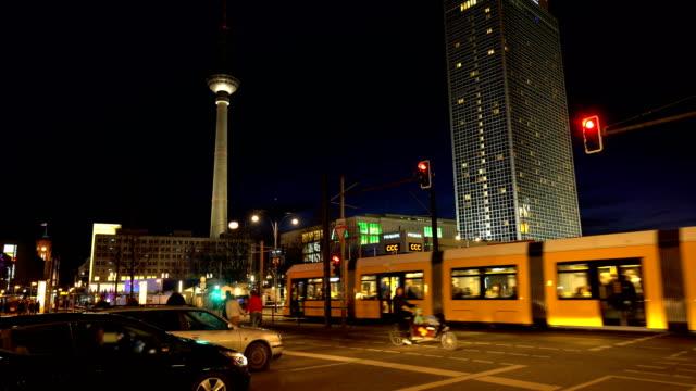 Berlin Alexanderplatz with TV Tower, Realtime