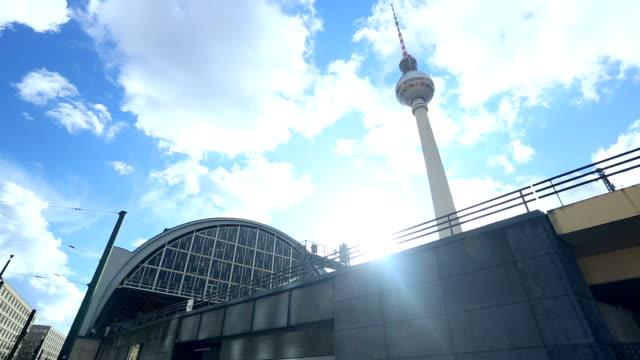 Berlin Alexanderplatz with TV Tower