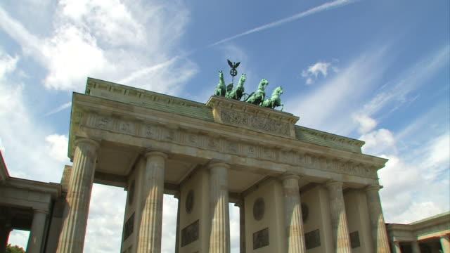 Berlin Brandenburg Gate, Time Lapse