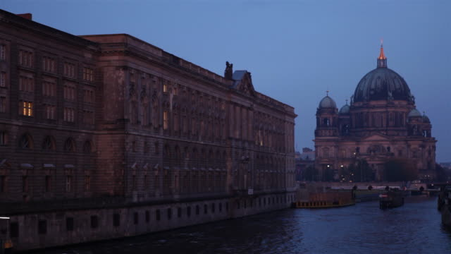 Berlin Cathedral (Berliner Dom) at dawn