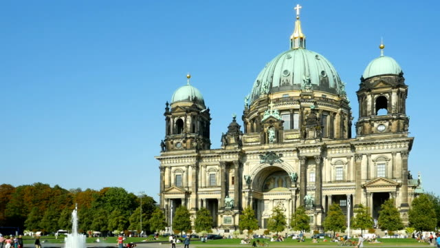 TL PAN Berlin Cathedral In Late Summer