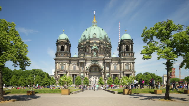 Berlin Cathedral in Summer with Zoom
