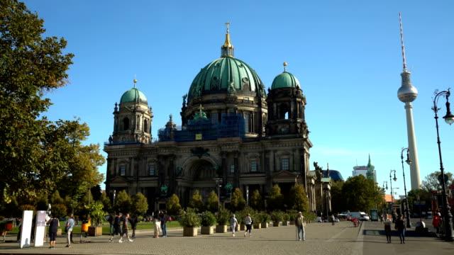 berlins katedral - dom bildbanksvideor och videomaterial från bakom kulisserna