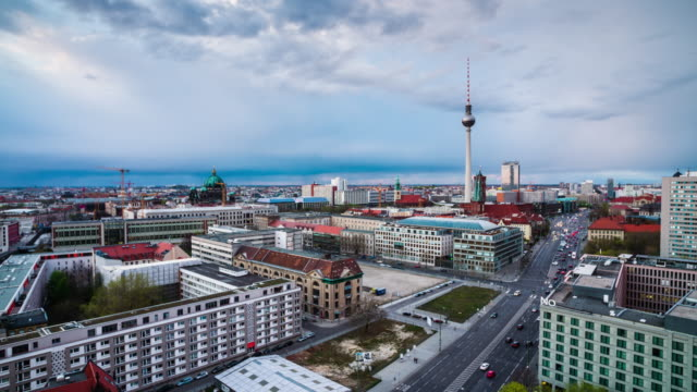 berlin cityscape - germany - east berlin stock videos and b-roll footage